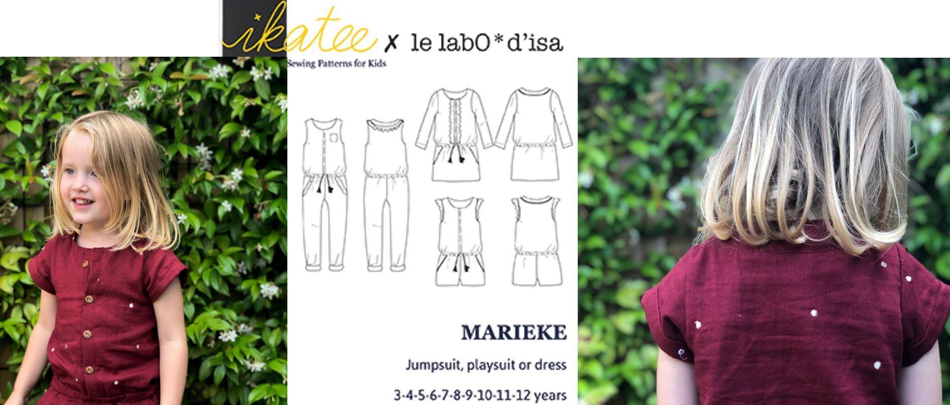 Ikatee – Marieke naaipatroon